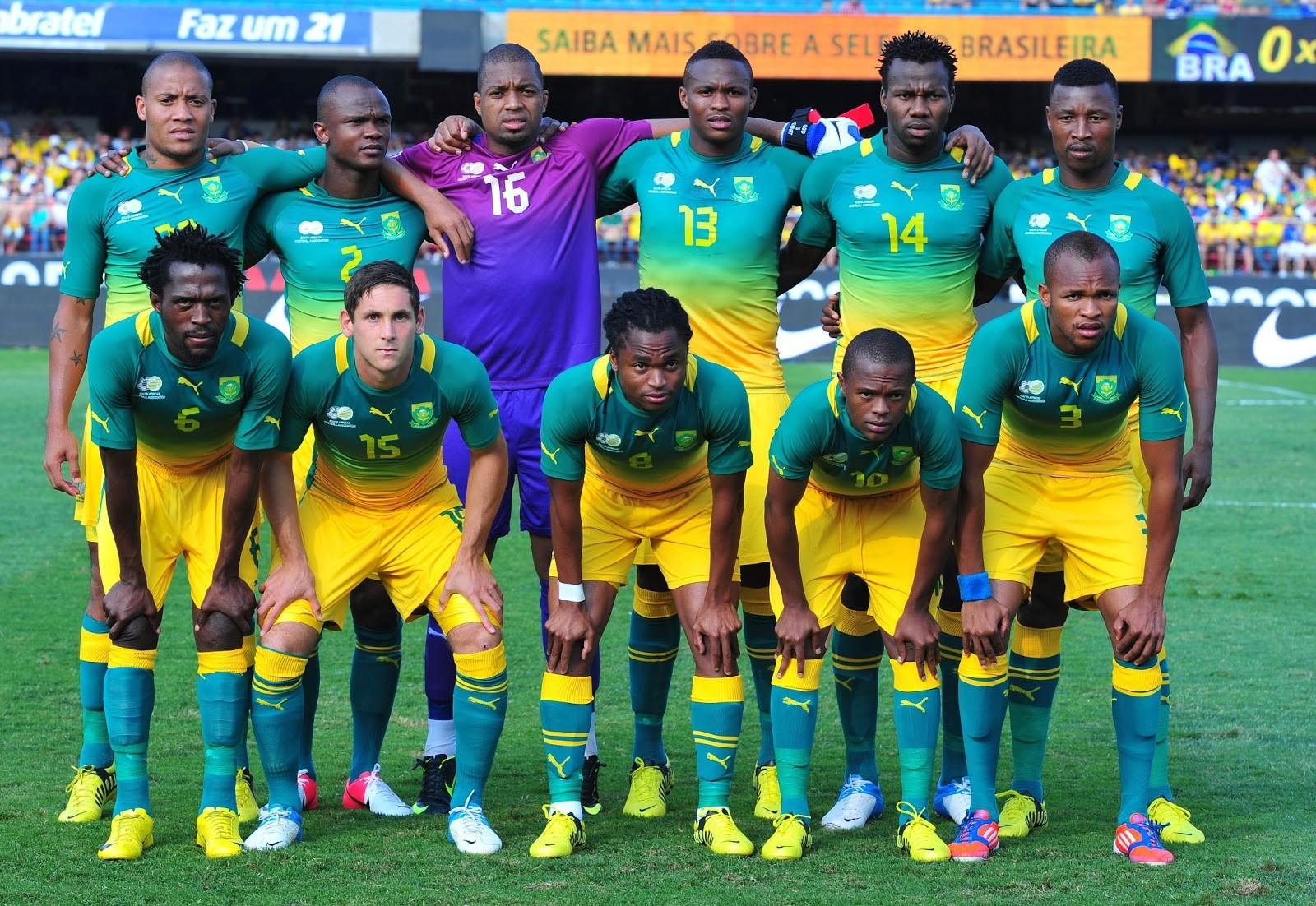 CM 2018 : Des nuages sur la tête des Bafana Bafana