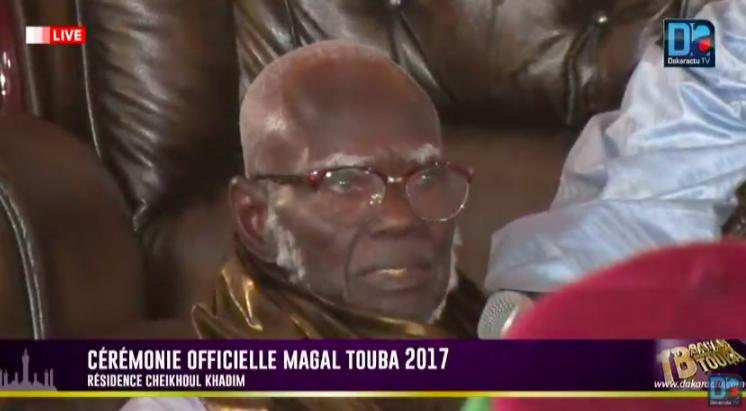 Cérémonie officielle du Grand Magal : Serigne Mountakha explique les raisons de l'absence de Sidy Makhtar Mbacké