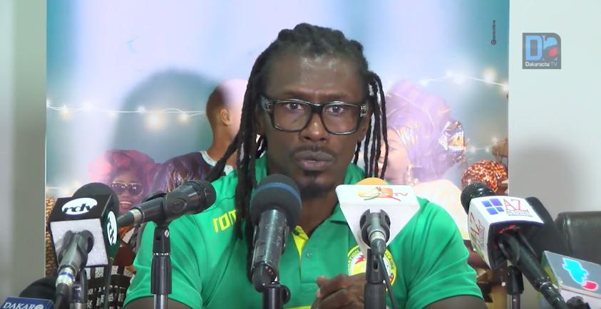 """Aliou Cissé : """"Les lions veulent terminer en beauté"""""""