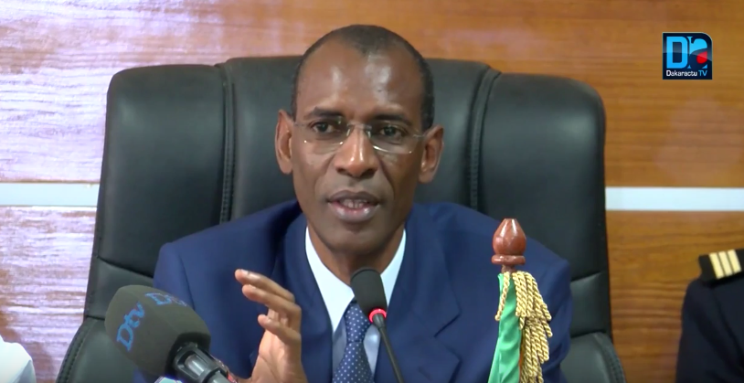 e ministre des Infrastructures et des Transports, Abdoulaye Daouda Diallo