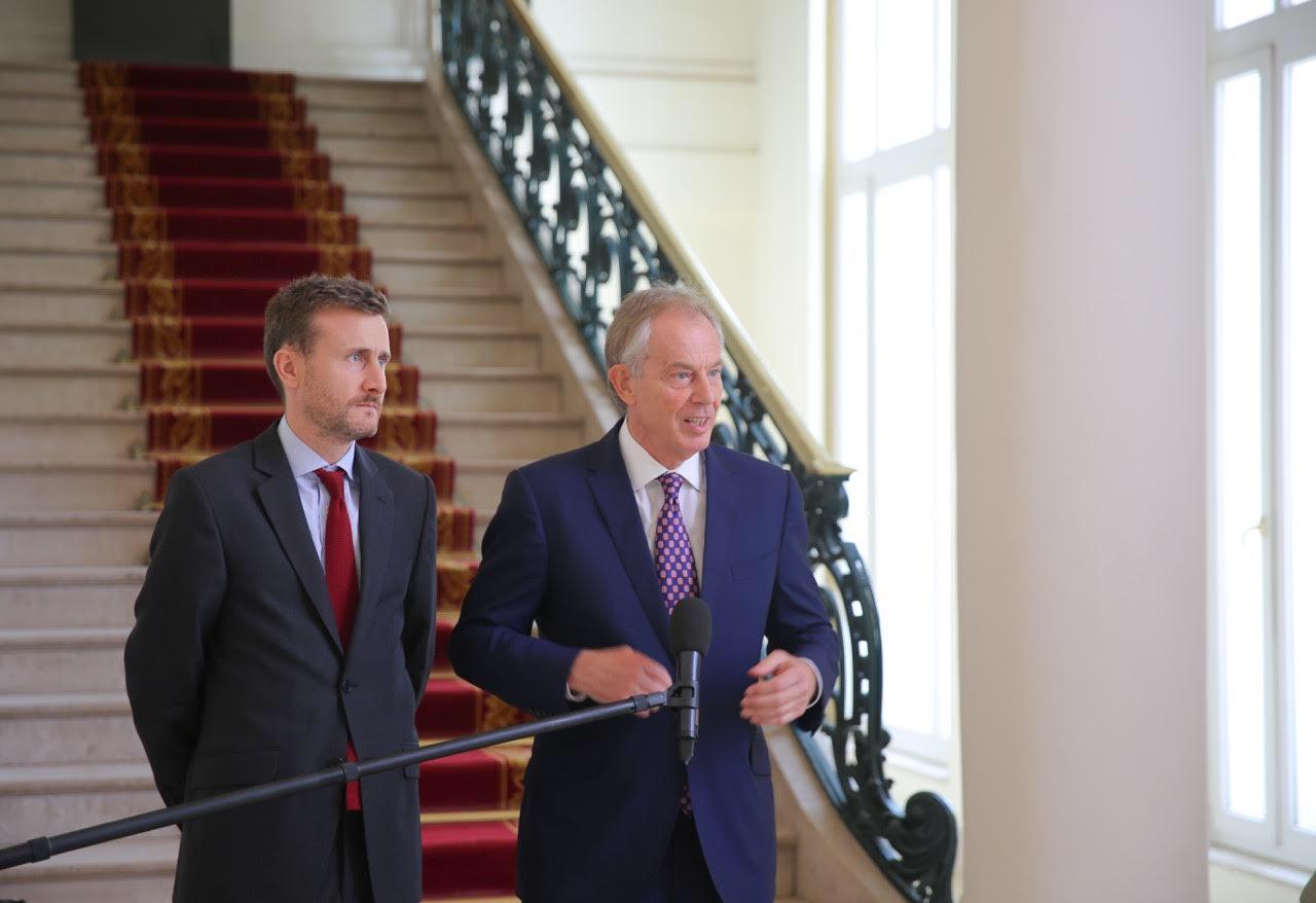 AUDIENCE AU PALAIS : Macky Sall reçoit l'ancien Premier ministre Tony Blair