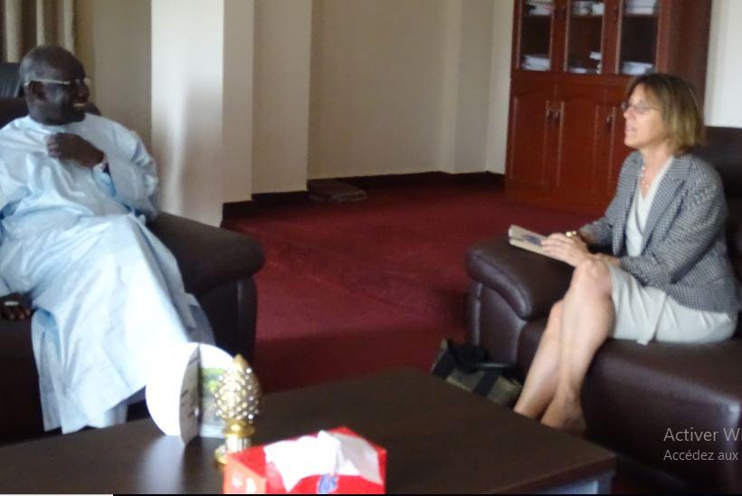 Francophonie : Mbagnick NDIAYE et l'Ambassadeur du Canada échangent sur les perspectives de partenariat