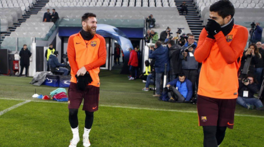 Quand Messi se moque de Ronaldo