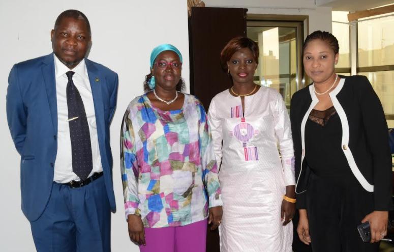 Visite de Madame le Ministre de la Bonne Gouvernance et de la Protection de l'Enfance au siège de l'ANPECTP