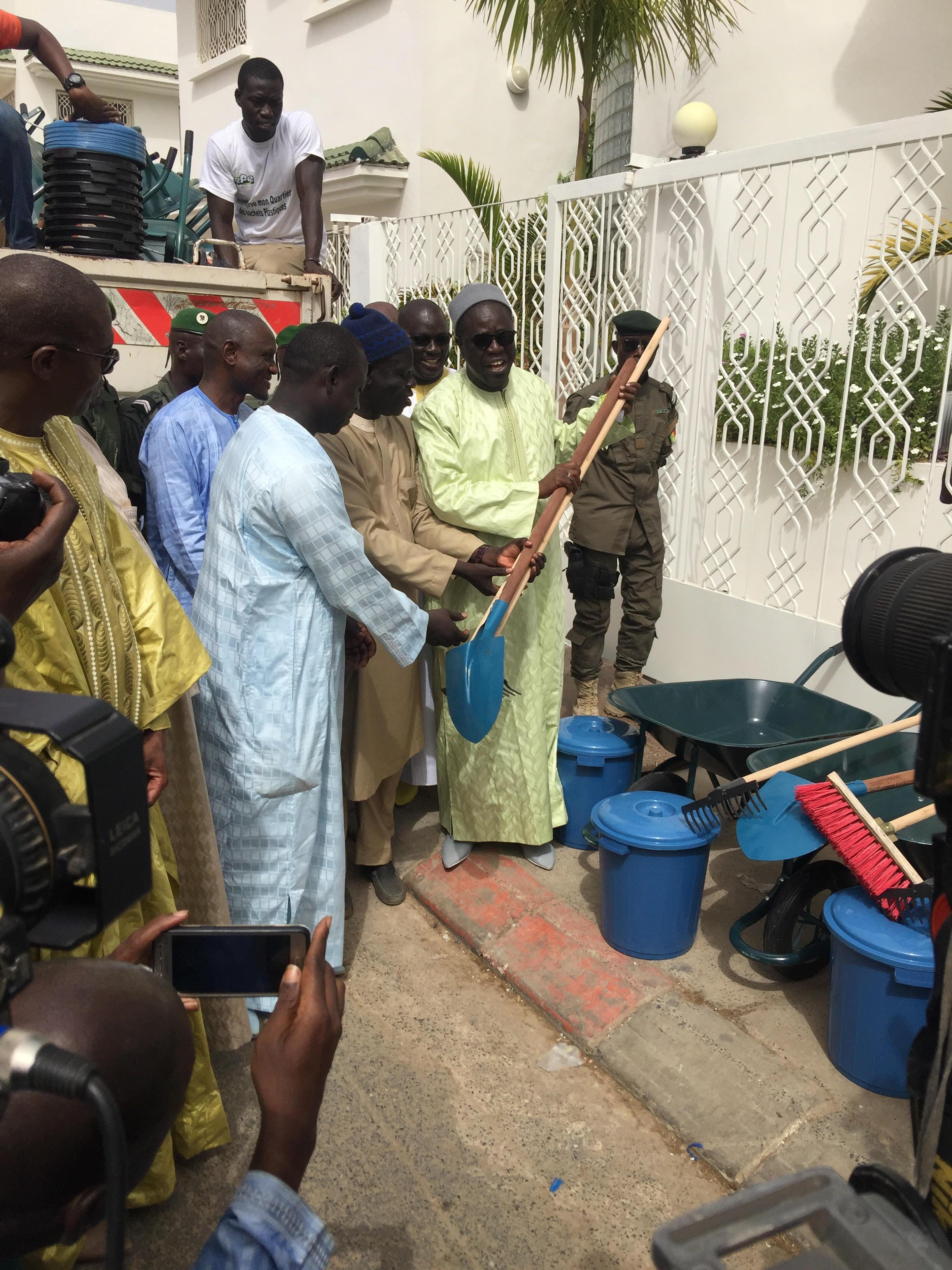 Gamou Tivaouane 2017 : le ministre de l'Environnement veille à la propreté des lieux de pèlerinage