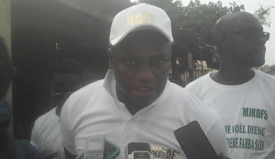 """Ousmane Noël Dieng, président du mouvement MJK : """" Les autorités politiques de Kaolack doivent se consacrer aux besoins des populations surtout en cette période de Gamou """""""