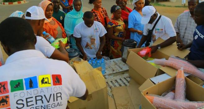 Gamou 2017 : La Fondation « Servir le Sénégal» sert 6.000 mets copieux et rafraîchissements aux pèlerins de Médina Baye…