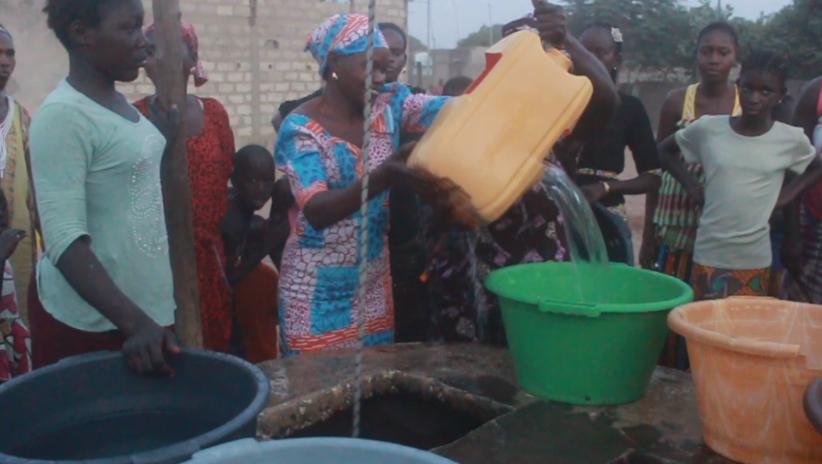 mbour manque d eau et d 39 lectricit les populations de keur mame mbaye dans la commune de. Black Bedroom Furniture Sets. Home Design Ideas