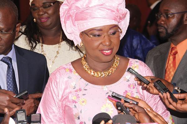 Ouverture de  AIBD : Les assurances de Maïmouna Ndoye Seck