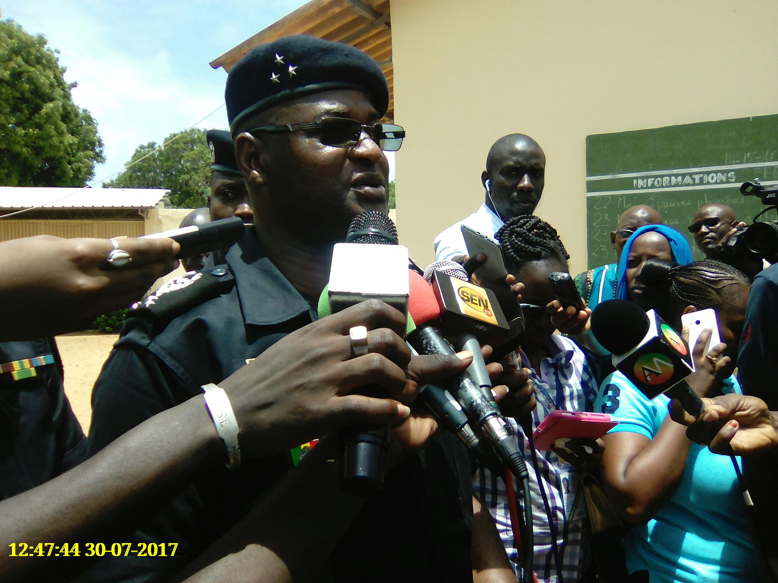 Police nationale : Inauguration du laboratoire national de drogue ce matin
