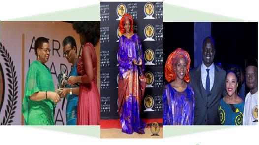 Wari primé aux African Leader for Change Awards – Johannesburg, 23 novembre 2017