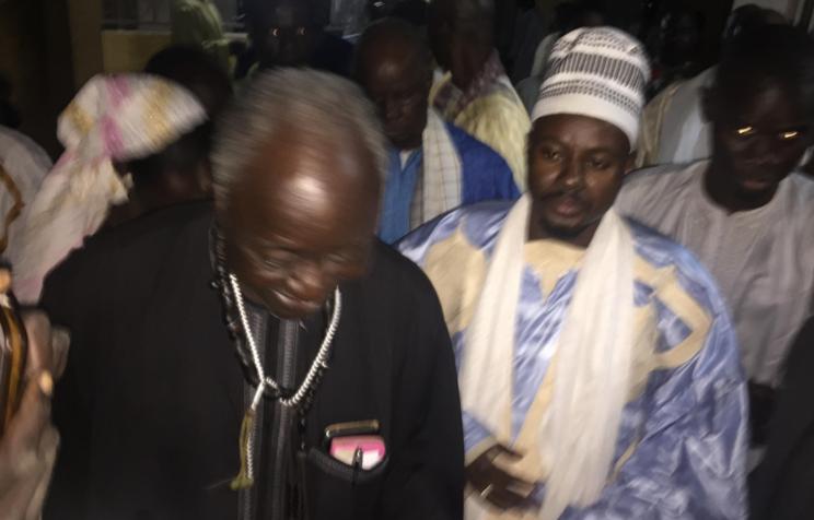 NUIT DÉDIÉE À MAME CHEIKH IBRA FALL- Cheikh Bassirou Mbacké Abdou Khadre chez les Baay-Fall