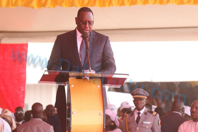 Macky Sall à l'inauguration de l'Aibd : « Ce qui a motivé la construction de cet aéroport »