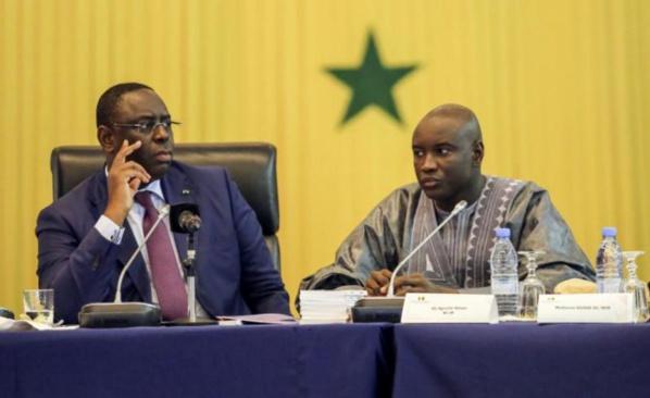 Dialogue national : Les compteurs à zéro