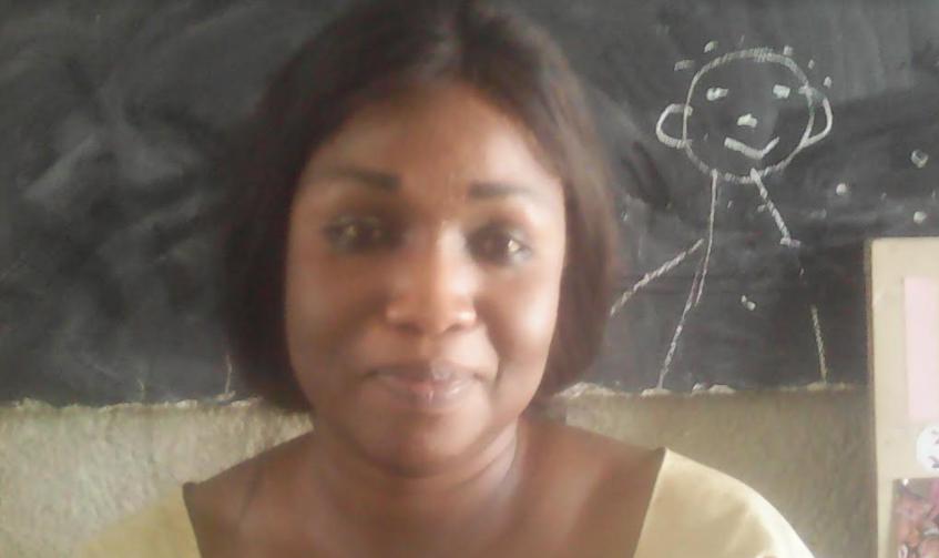 """Ndèye Mariétou Moundaye Ndiaye Thorpe, Directrice de l'école maternelle de Dialègne : """" Nous sollicitons l'appui de l'État pour le développement des écoles maternelles de la commune de Kaolack"""""""