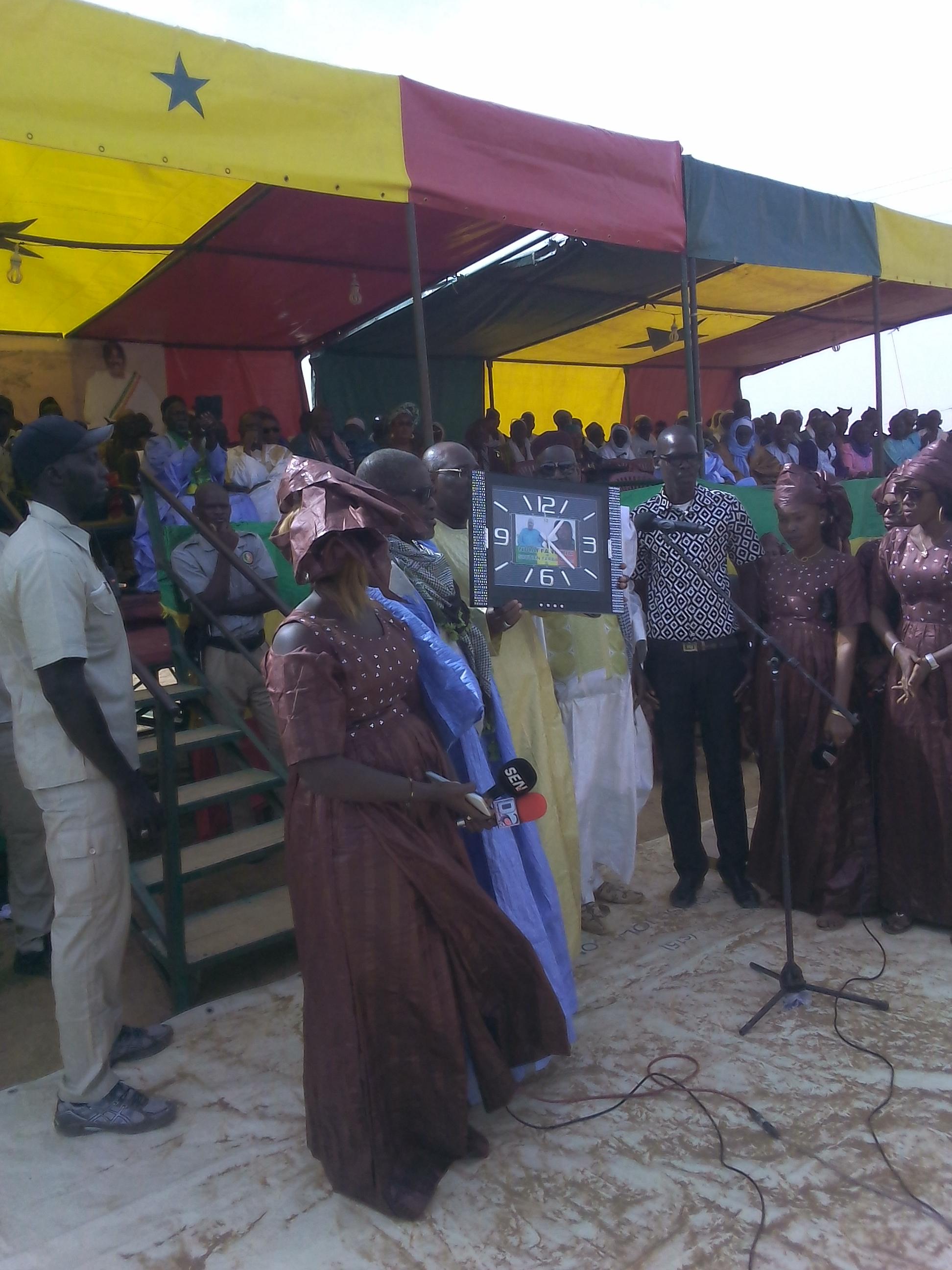 Journées culturelles du Dandé Mayo : Le député Farba Ngom honoré pour son engagement dans le Fouta