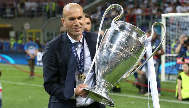 Real de Madrid : Zidane, 2ème entraîneur le plus titré