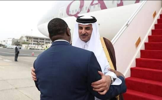 Visite-éclair : L'émir du Qatar a quitté Dakar tôt ce matin pour Bamako