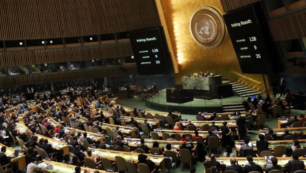 Jérusalem : l'ONU condamne à une large majorité la décision de Donald Trump