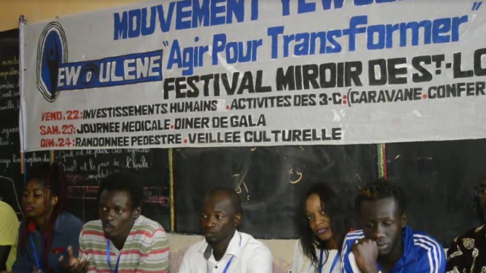Festival Mouvement Yéwoulène de Saint Louis : Les jeunes veulent restaurer les valeurs sociales par des actions concrètes