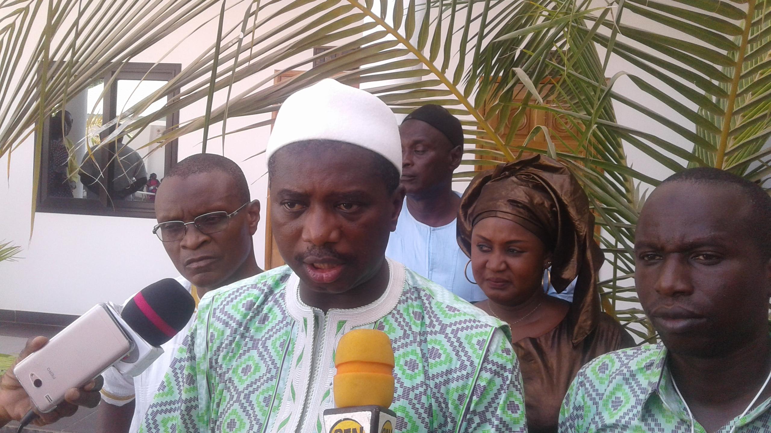 VISITE DE MACKY SALL A KOLDA : Chérif Léheibe Aidara et le Bamtaaré Sénégal mobilisent déjà les troupes