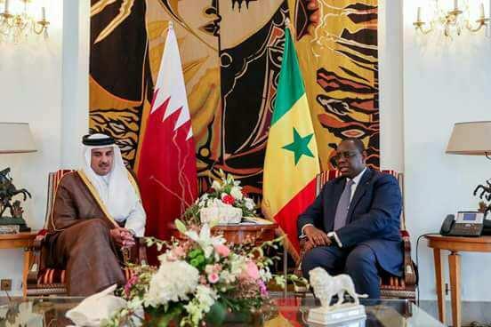 Visite sur fond de crise au Moyen-Orient : Plus de 24 h après, rien n'a filtré des pourparlers entre Macky et Al-Thani