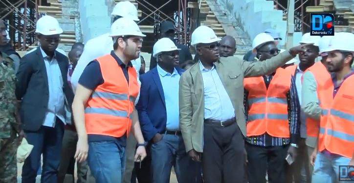"Diamniadio : ""Dakar Aréna"" prend forme"