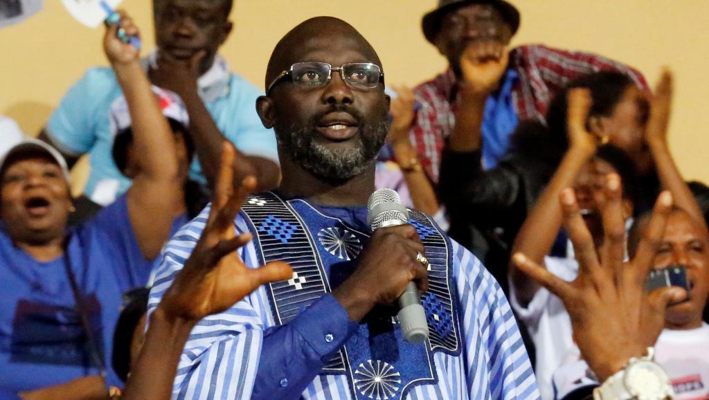 LIBERIA : Dernier grand meeting de George Weah avant l'élection présidentielle