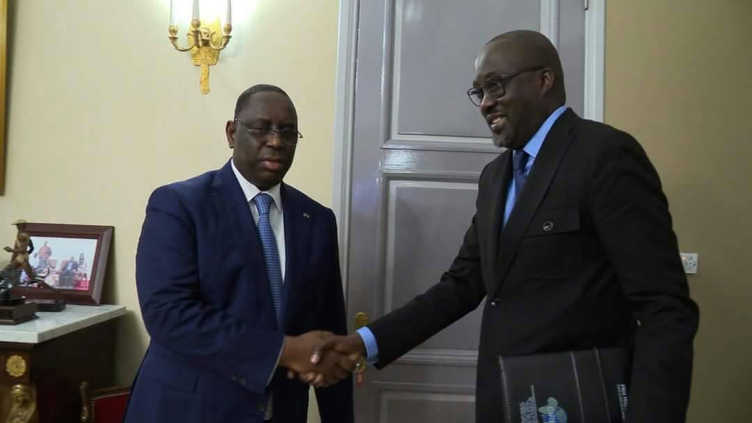 Prix Macky Sall pour le Dialogue : Le représentant du CIRID, Maodo Malick Mbaye, félicité par le Chef de l'Etat