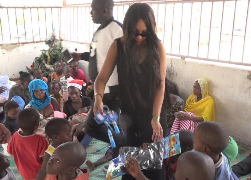 Fin d'année : Viviane Chidid redonne le sourire aux enfants démunis d'hôpitaux et de centres de réinsertion