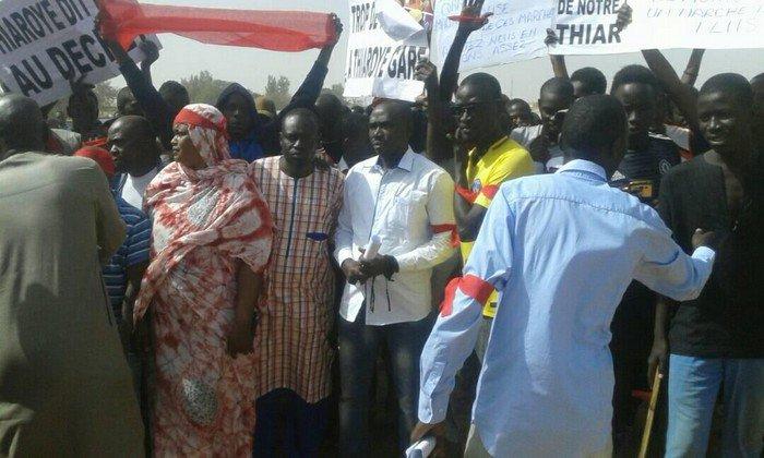 Marche du Collectif pour la défense des intérêts de Thiaroye : Des manifestants arrêtés / A l'origine, le TER