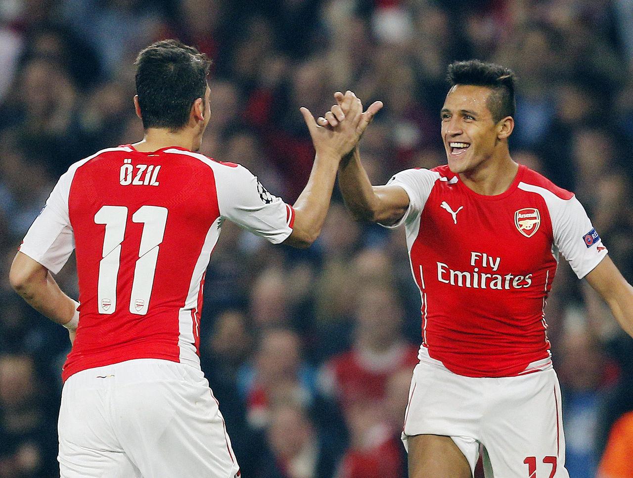 ARSENAL : Sanchez et Özil seront remplacés