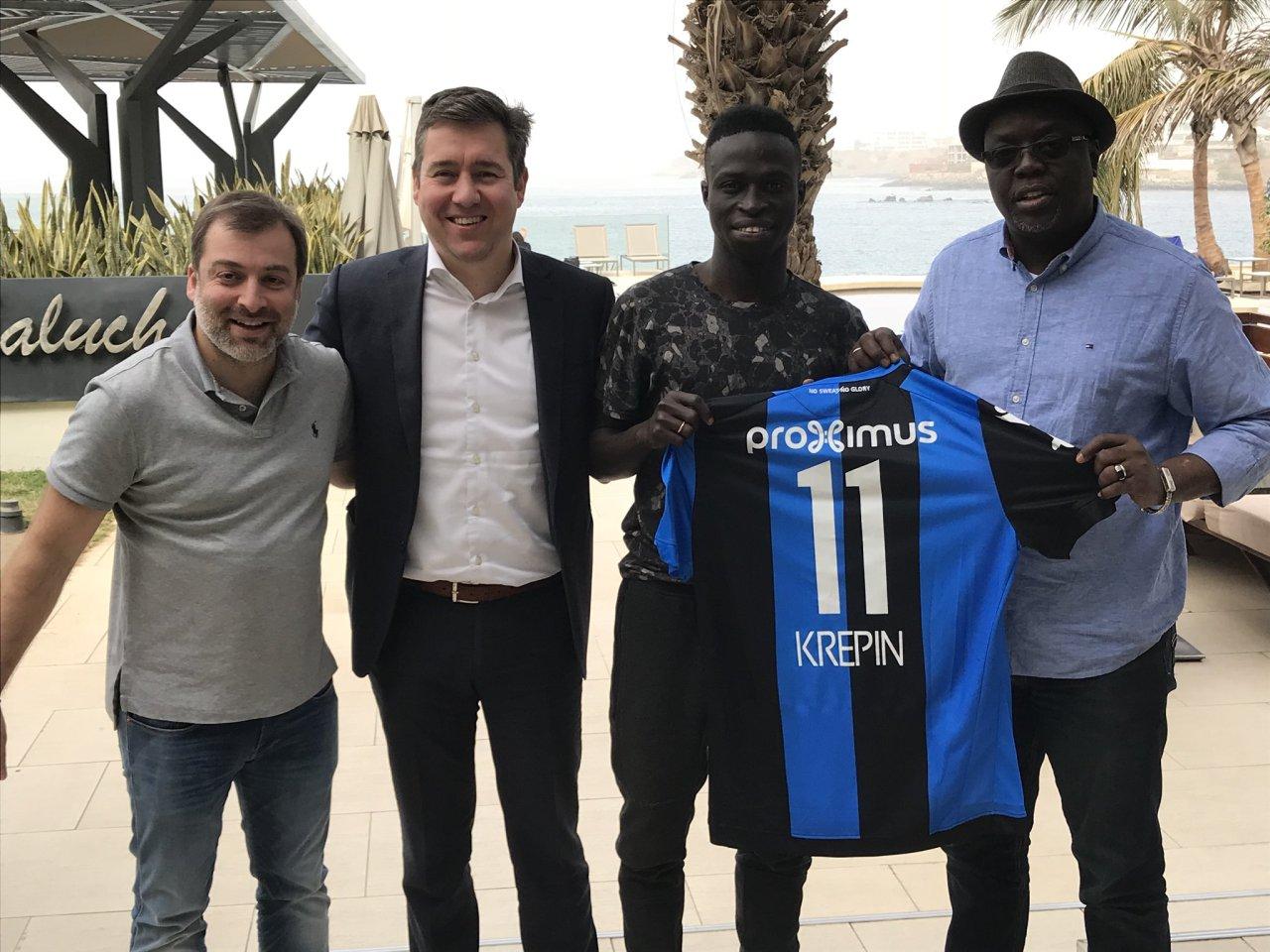 Krépin Diatta s'engage avec le FC Bruges