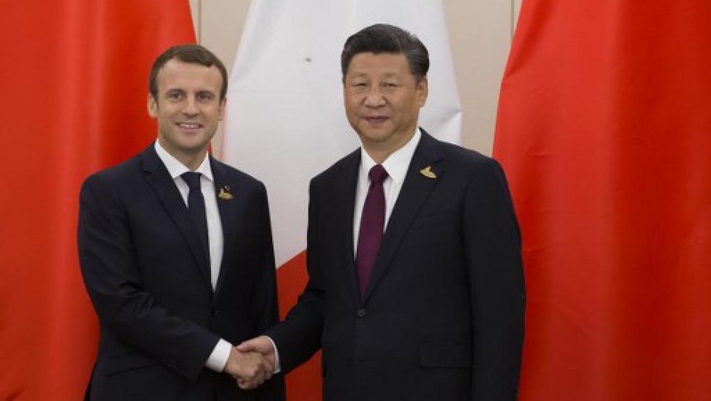 Signature d'un important contrat : Trêve de guerre nucléaire entre la France et la Chine