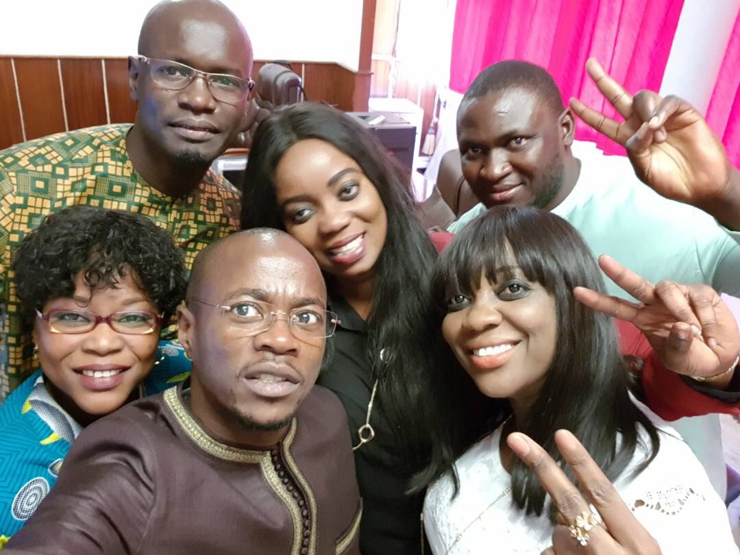 Les jeunes députés fêtent l'anniversaire du 3ème vice-président à l'Assemblée nationale Abdou Mbow
