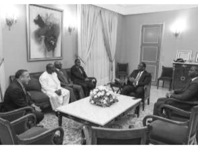 AUDIENCE AU PALAIS : Macky Sall reçoit le syndicat patronal de l'industrie hôtelière