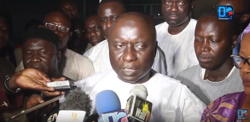 Idrissa Seck, président Rewmi « le Sénégal perd ainsi un homme de Dieu, un pur artisan de la paix sociale »
