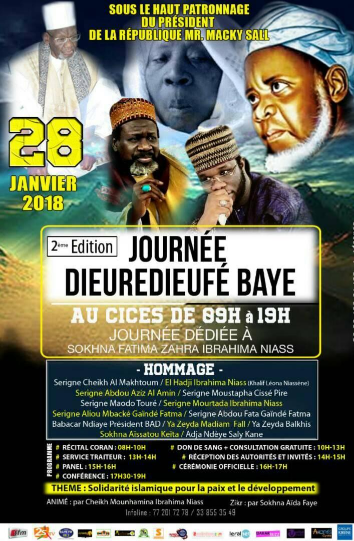 Commémoration : Baye Niass célébré au Cices le 28 janvier