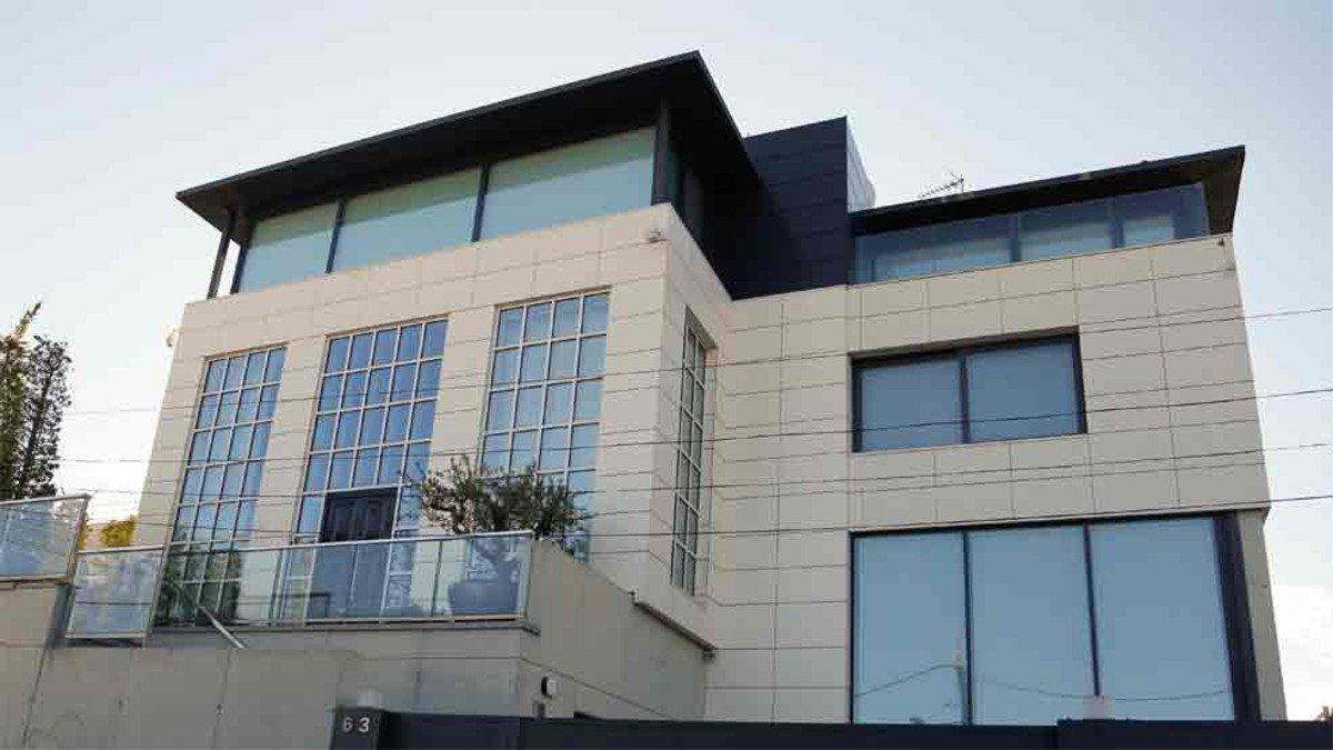 La villa de luxe de Coutinho à Barcelone