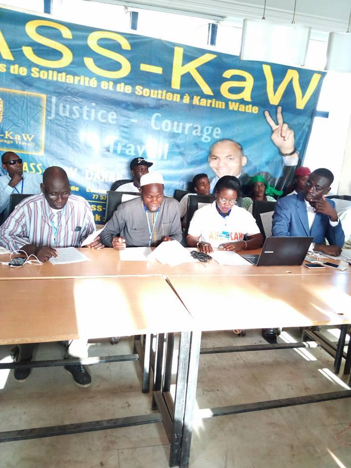 Asskaw apporte la réplique à Seydou Guèye : «Karim Wade fait peur au régime de Macky Sall»