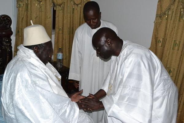 Idrissa Seck « béni » à Touba : son marabout est Diawerigne du Khalife général des Mourides