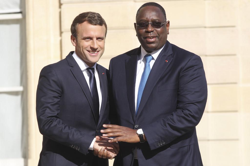 VISITE OFFICIELLE : Emmanuel Macron à Dakar le 1er Février