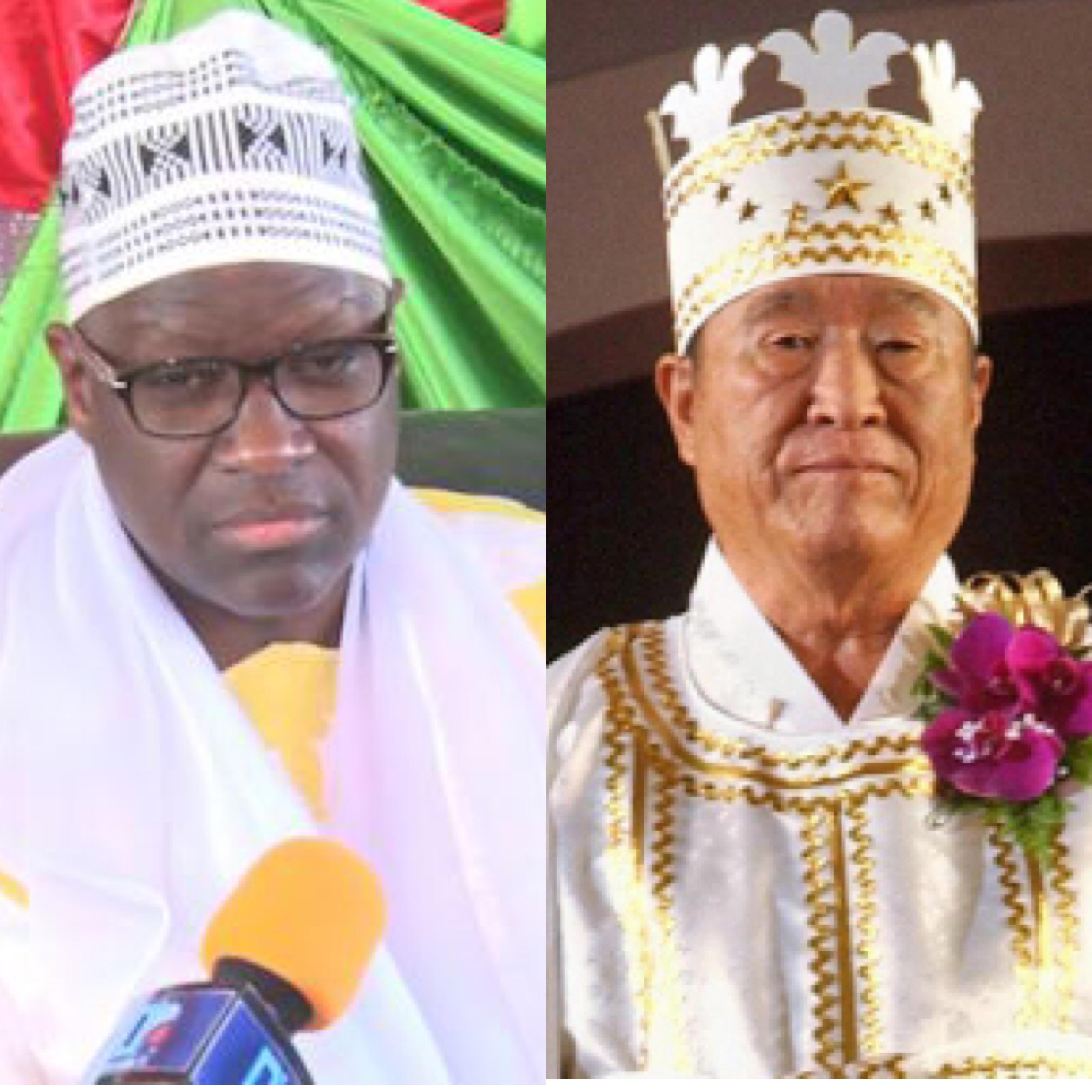 Dakar : Réunion de la secte Moon en pleine polémique sur la franc-maçonnerie / Cheikh Mansour Diouf, président du comité d'organisation