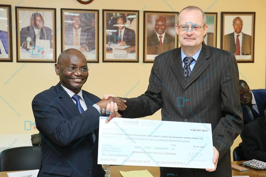 Le Cesag reçoit 49 bourses offertes par l'Office Allemand d'Echanges Universitaires (DAAD)