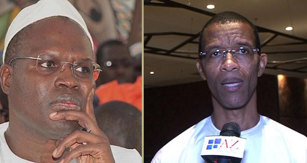 Une visite peut en cacher une autre : Alioune Ndoye au contact de Khalifa Sall