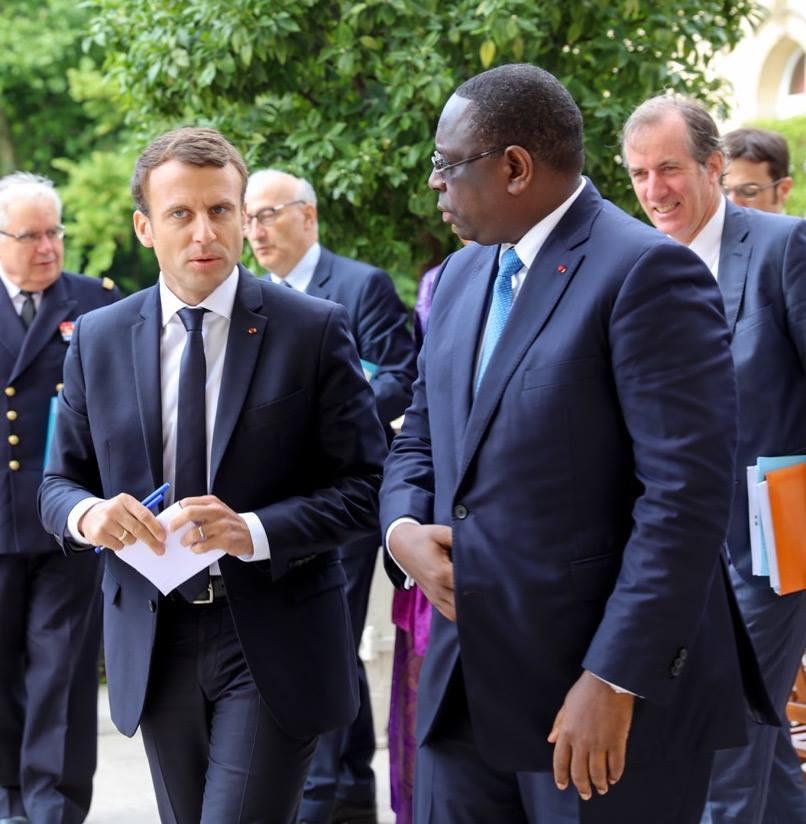 SÉNÉGAL : Macron va participer à la troisième conférence de reconstitution de fonds de partenariat mondial pour l'éducation