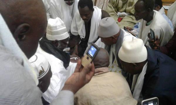 Rappel à Dieu de Cheikh Sidy Makhtar Mbacké : La famille de feu El Hadji Mbacké Tandian de Diourbel a présenté ses condoléances à Serigne Mountakha Mbacké