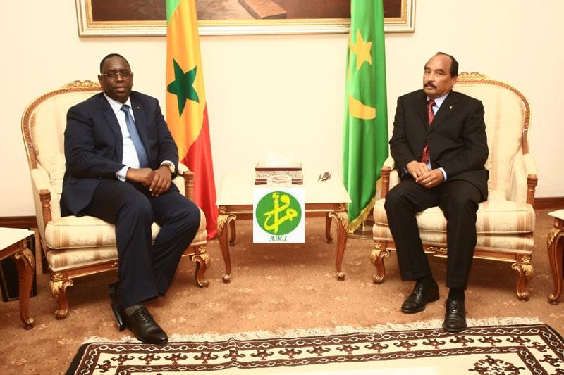 Le coup de fil de Macky Sall à son homologue mauritanien, Mohamed Ould Abdel Aziz