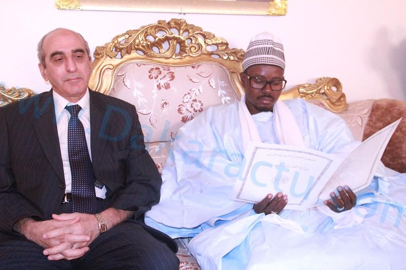 Quelques images de la visite de l'Ambassadeur d'Algérie à Touba