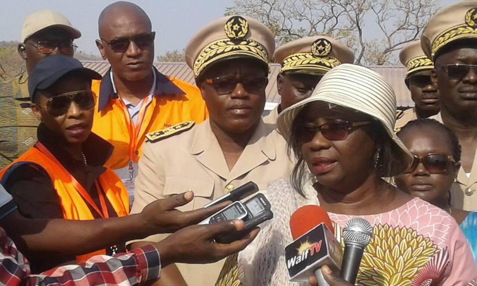 Kédougou /Visite économique : « Des couloirs d'orpaillage seront trouvés pour les populations » (Mme Gladima, ministre des mines)